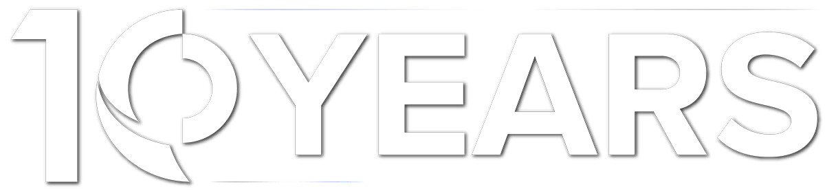 logo 10 years
